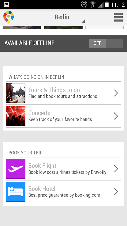 Berlin City Guide- screenshot