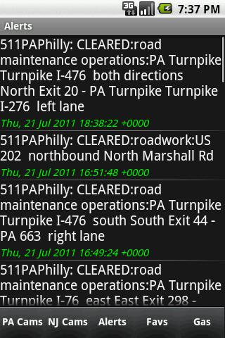 Philly Area Traffic Cameras - screenshot