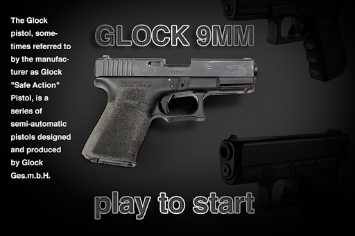 Glock pistol 9MM