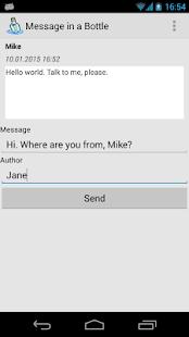 Message in a Bottle - screenshot thumbnail