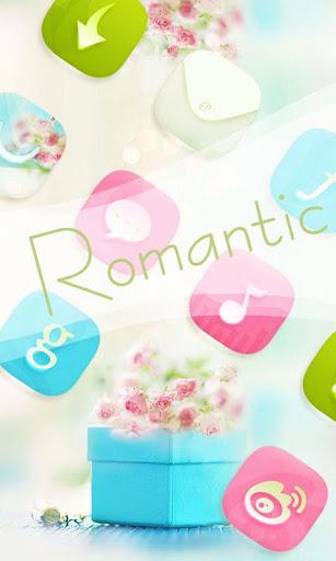 Romantic GO Launcher Themes