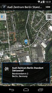 Audi MMI connect - screenshot thumbnail