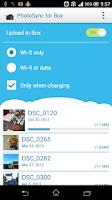 Screenshot of Photo Sync for Box (Uploader)
