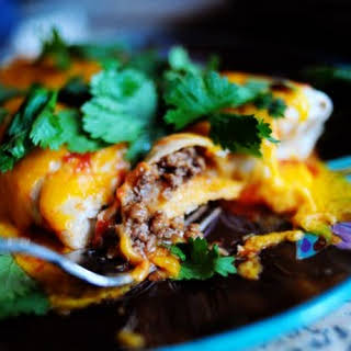 Beef With Rice Burritos Recipes.