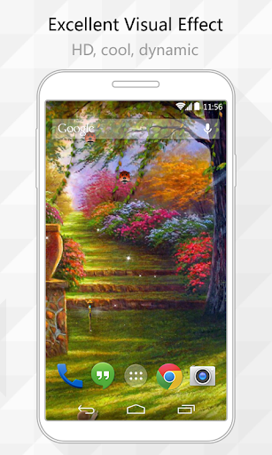 Painting Garden Live Wallpaper