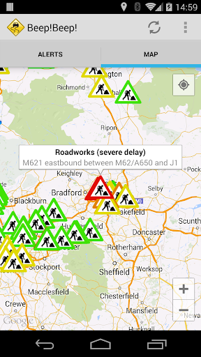 UK Traffic Information Alerts