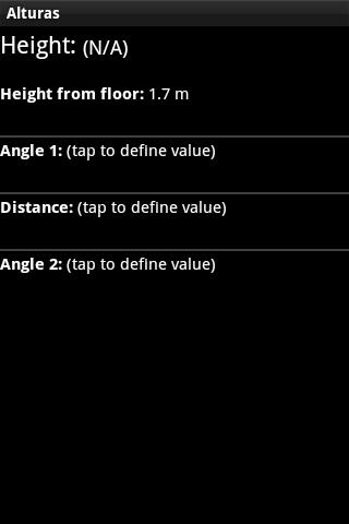 Alturas Height Meter