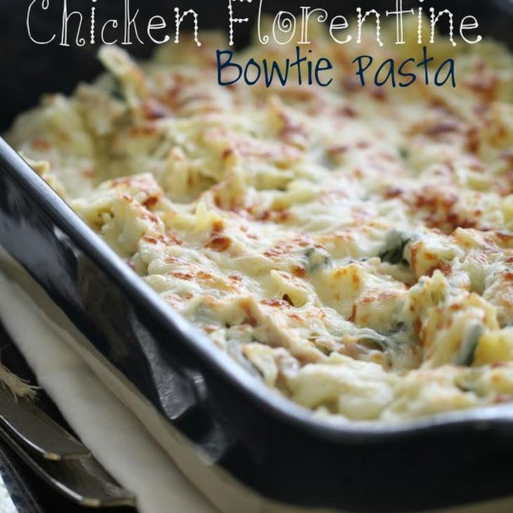 Chicken Florentine Bowtie Pasta Recipe
