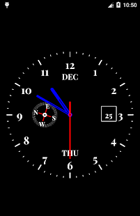 Clock Live Wallpaper- screenshot thumbnail
