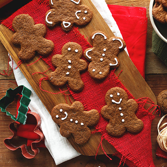 Vegan Gluten Free Gingerbread Men Recipe