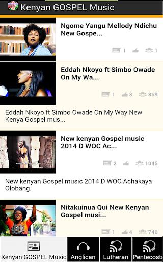 KENYAN GOSPEL MUSIC