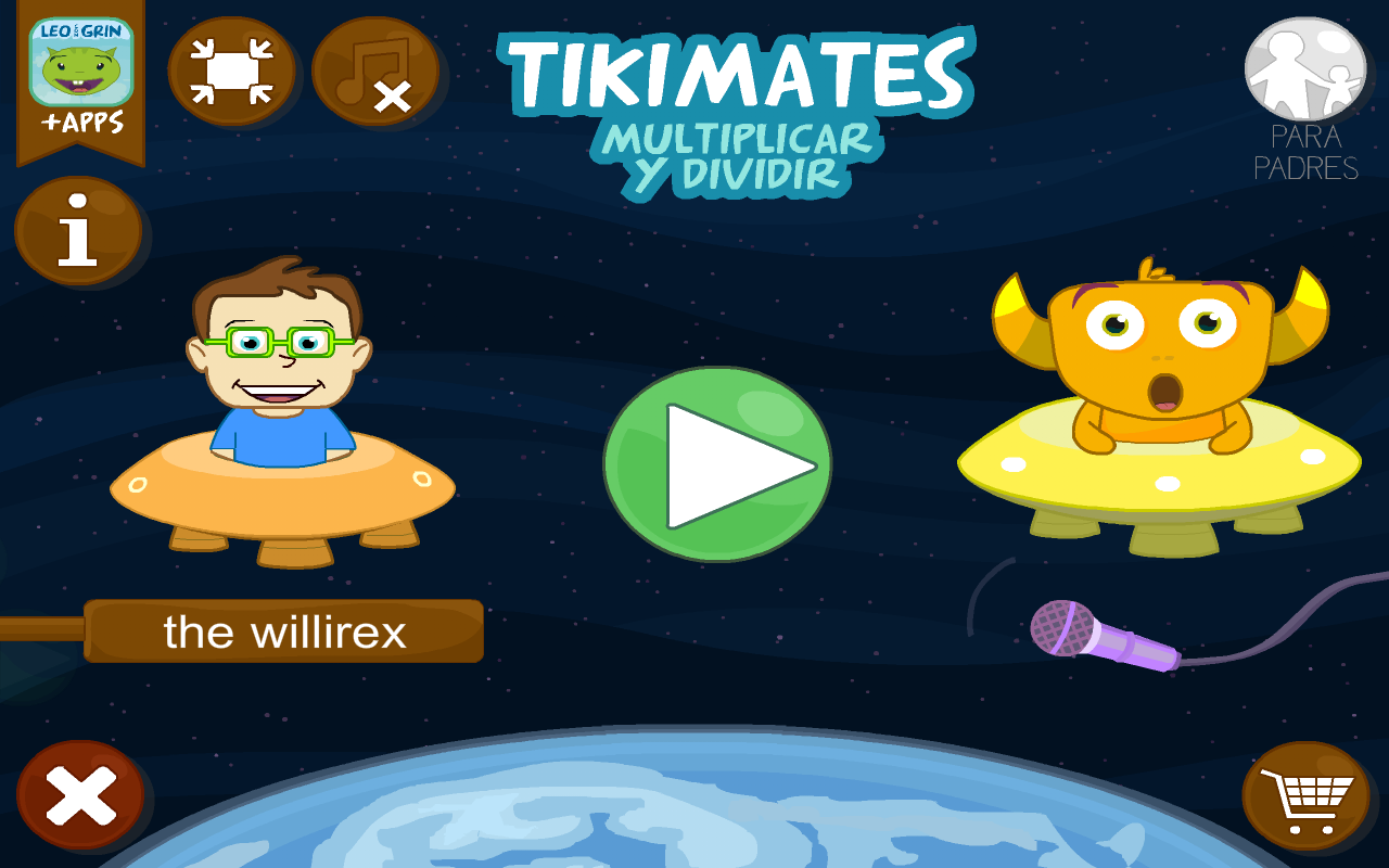 TIKIMATES: multiplica y divide- screenshot