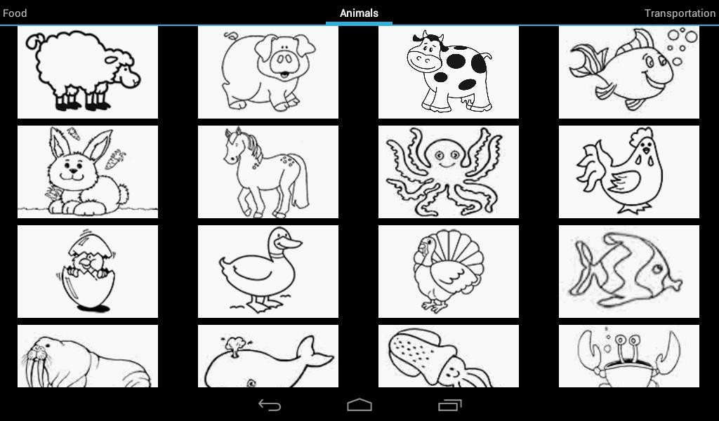 Çocuklar için boya screenshot
