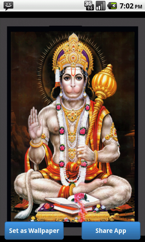 Hanuman Wallpaper HD- screenshot
