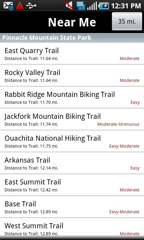 Arkansas State Parks - screenshot