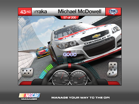 case application fast company nascar