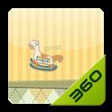 童年木马 - 360桌面主题 icon