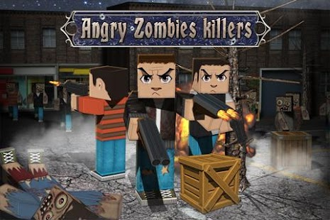 Angry Zombies Killers- screenshot thumbnail