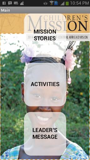 S.D.A. Children Mission Story