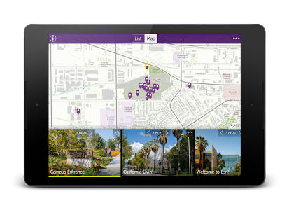 Esri Campus Map Tour screenshot 6