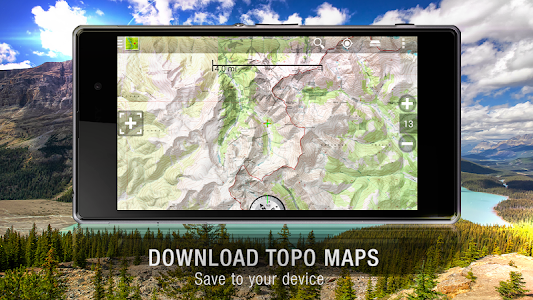 BackCountry Navigator TOPO GPS v5.4.9
