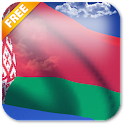 3D Belarus Flag Live Wallpaper