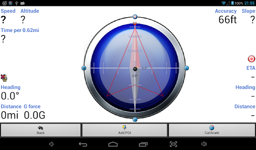 Tracky GPS Navigation+ Compass- screenshot thumbnail