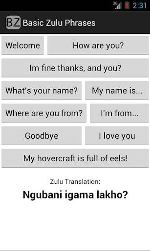 Basic Zulu
