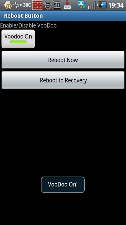Voodoo Toggle Reboot Button - screenshot