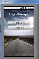 Screenshot of Trip Manager