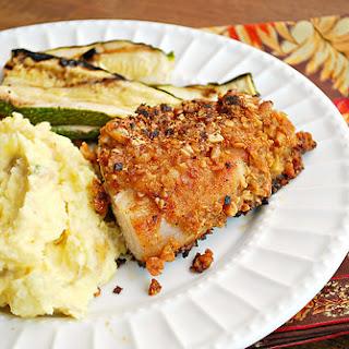 Honey Pecan Crusted Chicken.