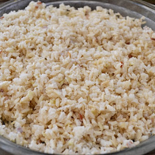 Quick Brown Rice Recipe.