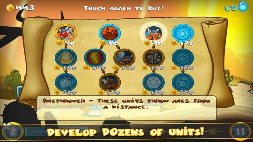 Swords and Soldiers Demo screenshot #5