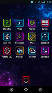 Neon Pixelz Go Nova Apex Theme - screenshot thumbnail