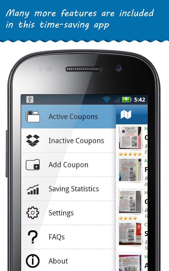 COUPON SCAN APP ANDROID