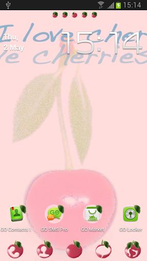 GO桌面EX主题樱桃