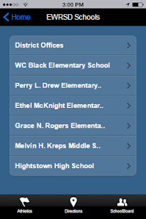 East Windsor Regional Schools- screenshot thumbnail