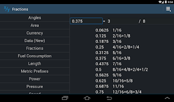Screenshot of Simply Convert Units Pro