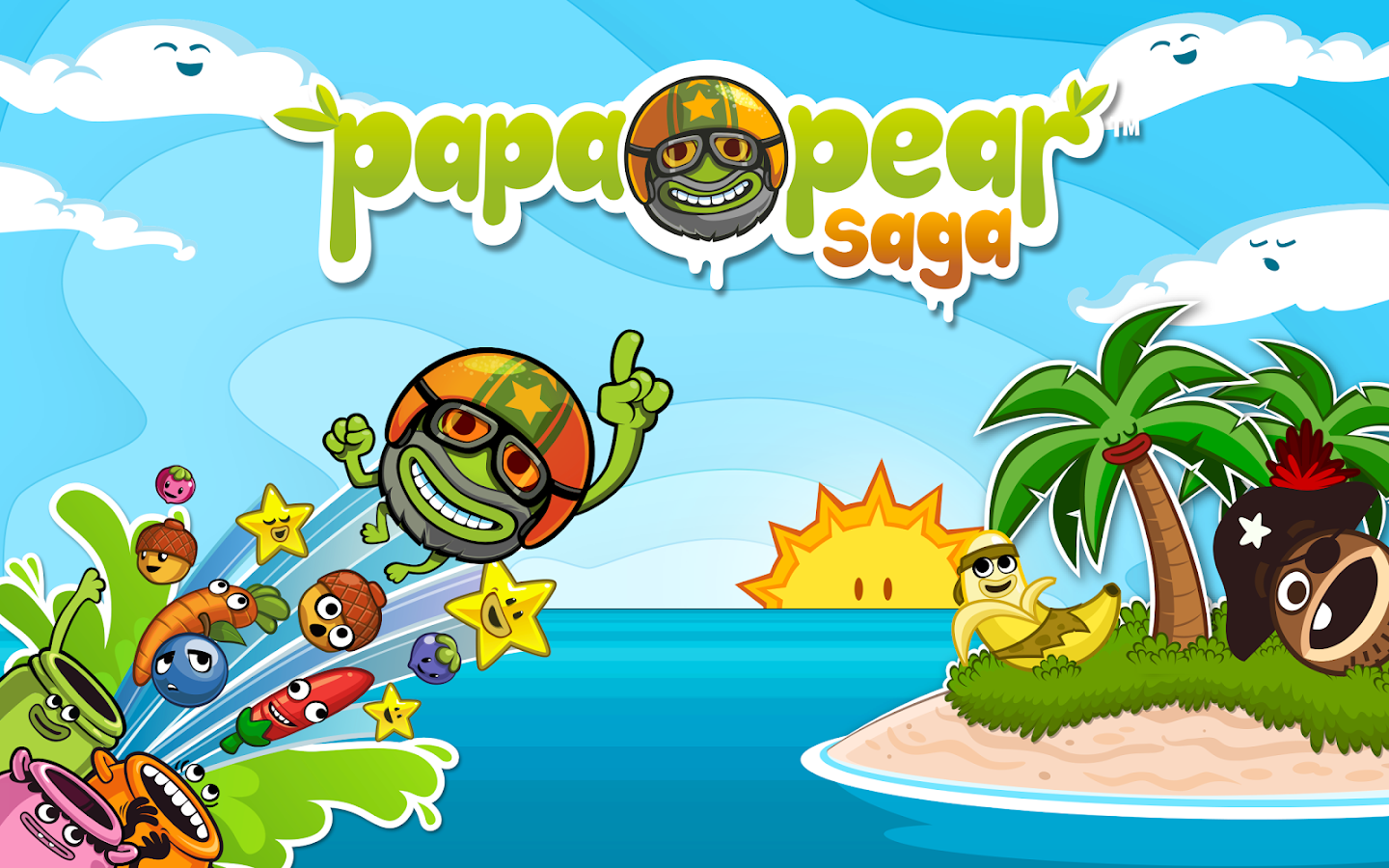 Papa Pear Saga - screenshot