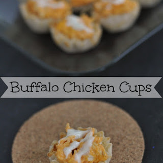 Buffalo Chicken Cups