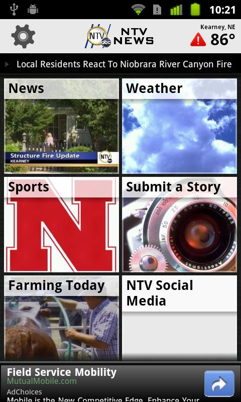 NTV News Mobile App- screenshot