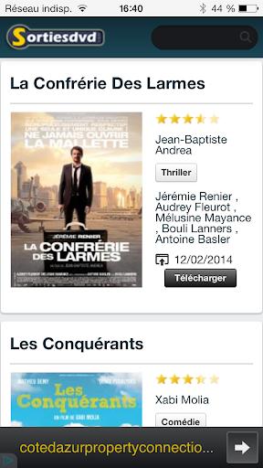 Sorties DVD - Blu-Ray et VOD