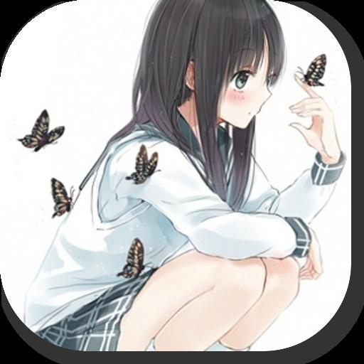 女子アニメイラスト可愛い画像 人気萌え写真集アプリ 娛樂 App LOGO-APP試玩