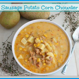 Sausage Potato and Corn Chowder