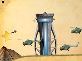 Screenshot of Wingsuit Stickman