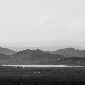 Solitude by Kosmas Fikie Aryadi - Landscapes Mountains & Hills ( blackandwhite, hills, indonesia, bnw )