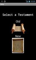Screenshot of Easy Bible