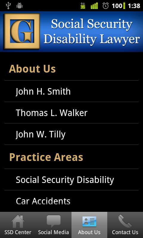 Social Security Lawyer- screenshot