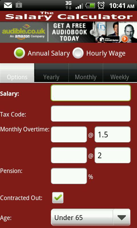 The Salary Calculator - screenshot