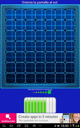 Cargador Solar Tablet Broma